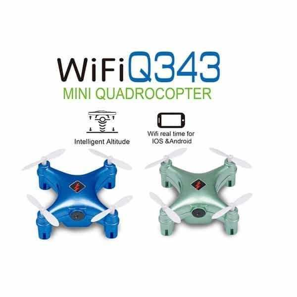 WLtoys Q343 WiFi Mini Juhitav droon RTF