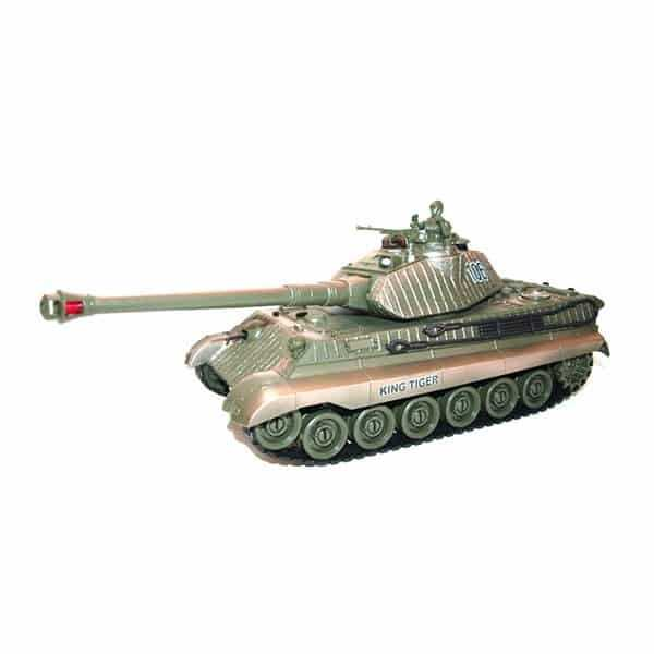 Zegan: German King Tiger 1:28 2.4GHz RTR Tank